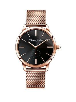 thomas-sabo-eternal-women-black-dial-rose-tone-ladies-watch