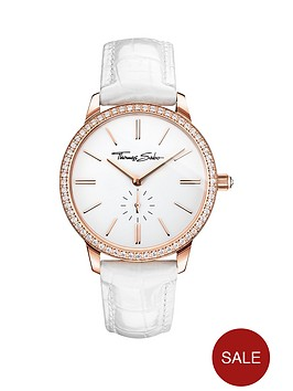 thomas-sabo-eternal-women-white-dial-rose-tone-ladies-watch