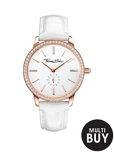 thomas-sabo-eternal-women-white-dial-rose-tone-ladies-watchnbspplus-free-karma-bead-bracelet