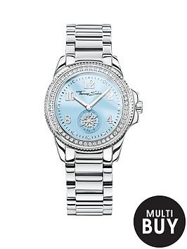 thomas-sabo-glam-chic-blue-dial-stainless-steel-bracelet-ladies-watchnbspplus-free-diamond-bracelet