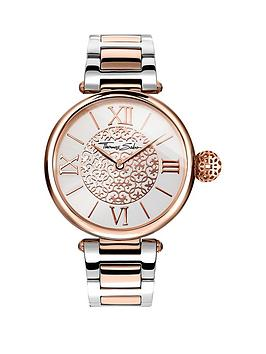 Thomas Sabo Thomas Sabo Karma Rose Gold Dial With Silver And Rose Gold Two  ... Picture