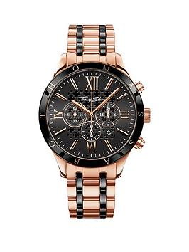 thomas-sabo-rebel-urban-chronograph-stainless-steel-rose-tonenbspmens-watchnbspadd-item-ktjq4-to-basket-to-receive-free-bracelet-with-purchase-for-limited-time-only