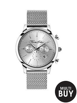thomas-sabo-eternal-rebel-chronographnbspstainless-steel-mesh-bracelet-watchnbspplus-free-diamond-bracelet