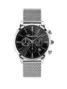 Thomas Sabo Eternal Rebel Chronograph Steel Mesh Bracelet Watch