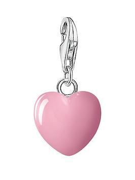 Thomas Sabo Charm Club Pink Heart Charm