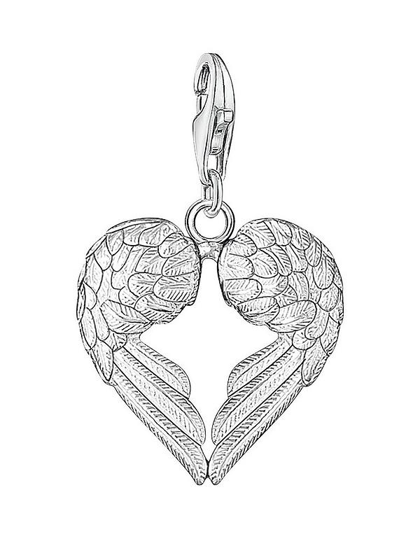 Its All About...You Mini Angel Wing Clip on Charm Perfect for Necklaces and Bracelets 98U