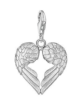 Thomas Sabo Charm Club Angel Wings Heart Charm