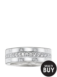 thomas-sabo-classic-logo-zirconia-set-ring