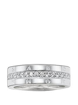 thomas-sabo-classic-logo-zirconia-set-ring