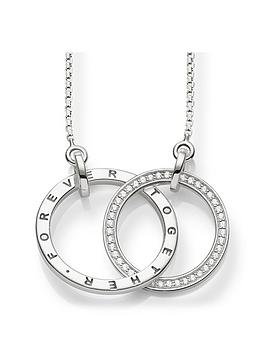 thomas-sabo-together-forever-medium-size-intertwined-rings-necklace-55cm