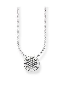 thomas-sabo-classic-logo-pendant-necklace