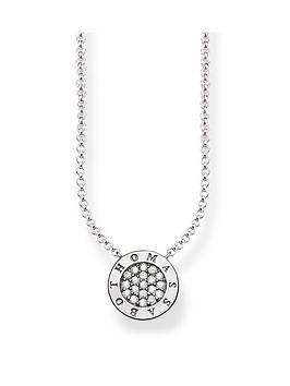 thomas-sabo-classic-logo-pendant-necklace