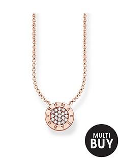 thomas-sabo-classic-logo-pendant-necklace-in-rose-goldnbspplus-free-karma-bead-bracelet