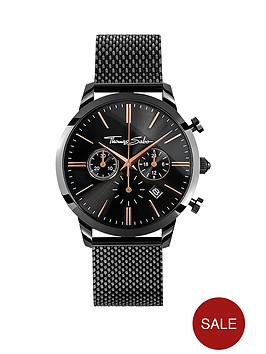 thomas-sabo-eternal-rebel-chronographnbspblack-stainless-steel-mesh-bracelet-watch