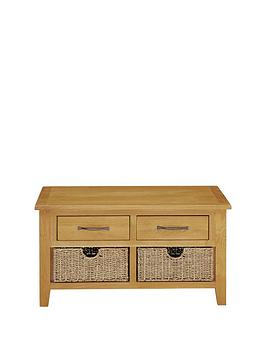 Luxe Collection  London Seagrass Oak Coffee Table