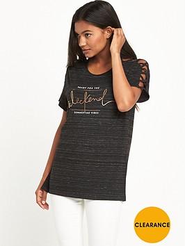 v-by-very-strap-shoulder-slogan-t-shirt