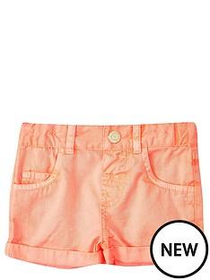 river-island-mini-girls-fluronbspcoral-shorts
