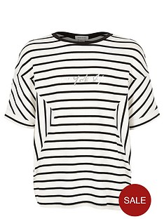 river-island-girls-black-stripe-top