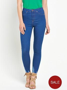 river-island-molly-high-rise-chewed-hem-skinny-jeans