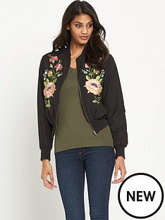 glamorous-embroidered-floral-bomber