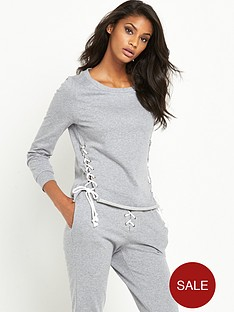 glamorous-tie-side-jersey-sweat-grey-marl