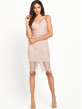 ax-paris-strappy-crochet-fitted-dressnbsp