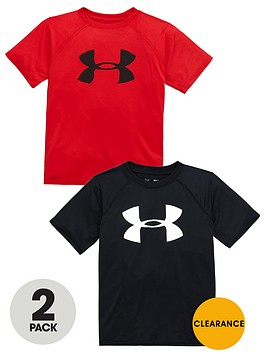 under-armour-under-armour-older-boys-pack-of-two-logo-tees