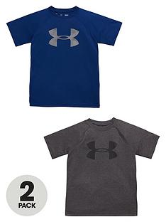 under-armour-under-armour-older-boys-pack-of-two-big-logo-tees