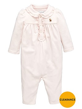 ralph-lauren-baby-girls-frill-polo-romp-suit