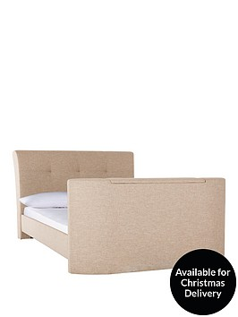 harrogate-fabric-double-tv-bed-frame