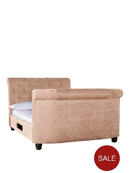 stowe-fabric-tv-bed-with-optional-mattress