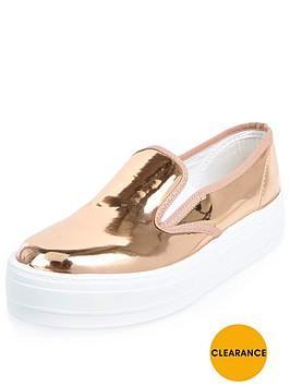 river-island-slip-on-plimsoll-trainer