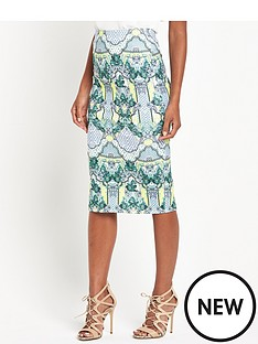 river-island-river-island-floral-print-pencil-skirt