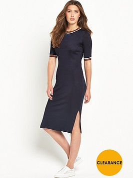 river-island-trim-detail-column-midi-dress