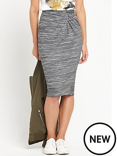 river-island-jersey-twist-knot-pencil-skirt