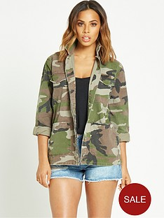 rochelle-humes-camo-shirt-jacket