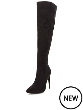 v-by-very-rosie-fauxnbspsuede-pointed-toe-over-the-knee-bootnbsp