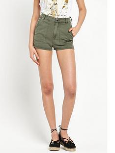 river-island-denim-high-waisted-shorts