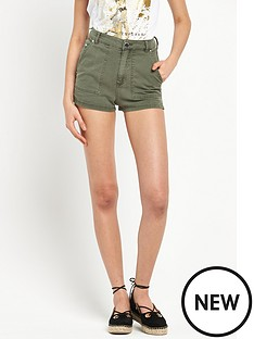 river-island-denim-high-waisted-shorts
