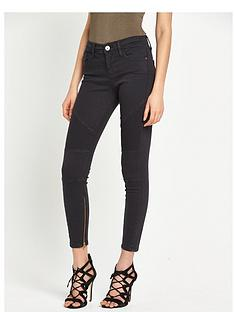 river-island-amelienbspbiker-superskinny-jeans-washed-blacknbsp
