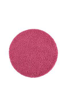 washable-shaggy-circle-rug