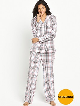 boux-avenue-boux-avenue-paloma-check-revere-flannel-pj-in-a-bag