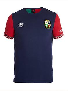 canterbury-lions-cotton-training-t-shirt