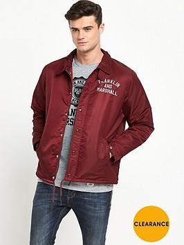 franklin-marshall-lightweight-coach-jacket