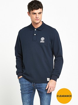 franklin-marshall-small-logo-ls-polo