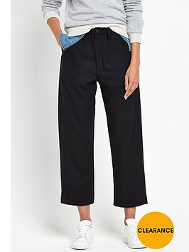 g-star-raw-core-bronson-loose-crop-trouser-mazarine-blue