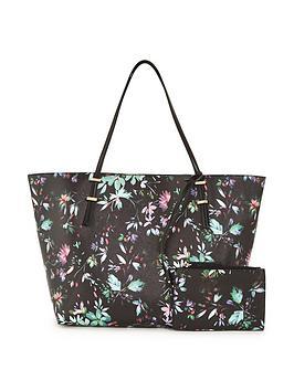 v-by-very-floral-shopper