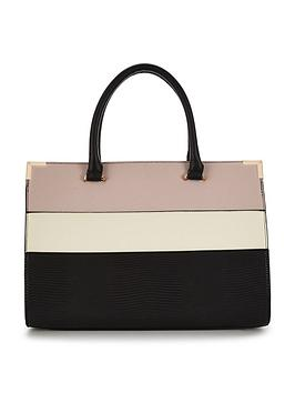 v-by-very-mixed-stripe-tote-bag