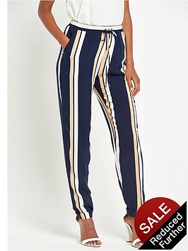 v-by-very-striped-print-tapered-trousers