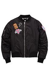 Girls BadgeBomber Jacket